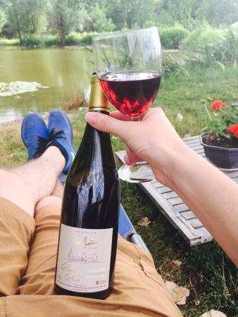 Sambin, France: Wine from local winery