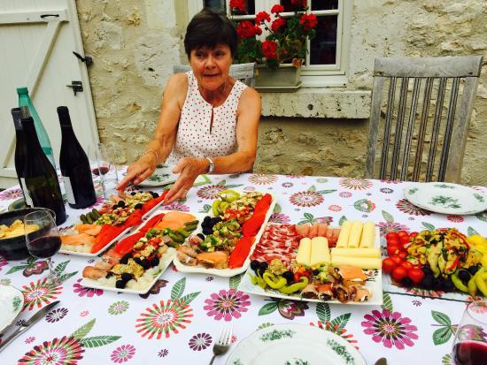 Sambin, Fransa: Marie-Louise wonderful hosts
