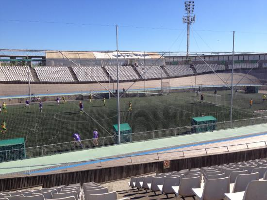Velódromo de Horta (Velòdrom d'Horta): Тренировка на стадионе