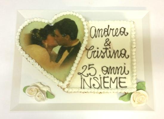 Molto Anniversario di Matrimonio 25 anni - Picture of Gelateria Fredde  QX48