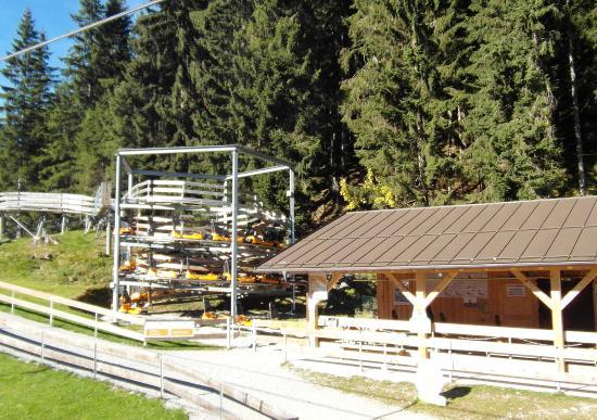 Kolbensattel : Plataforma de la Montaña Rusa
