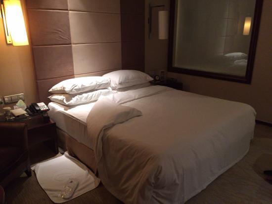 Liaoning International Hotel: ベッド