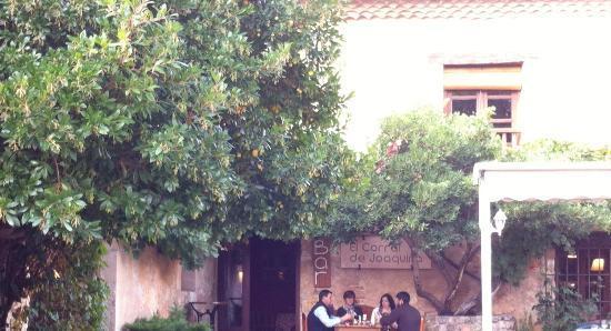 Province of Segovia, Espanha: Restaurante en Pedraza