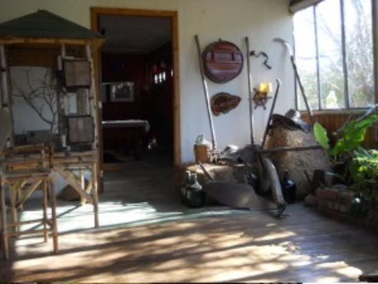 Restaurante & Cabanas El Mulato: interior