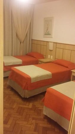 Hotel Monte Alegre: camas
