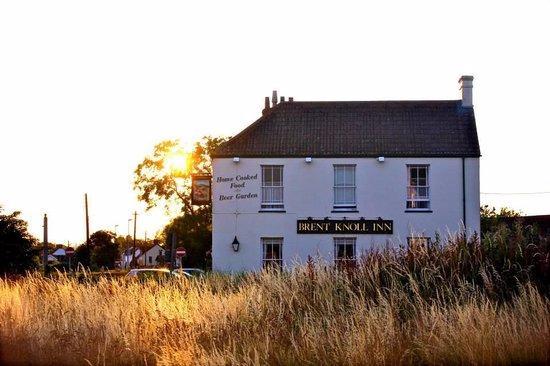 Brent Knoll Inn pub East Brent