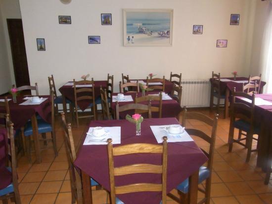 Residencial A Canhota: Sala pequeno almoço