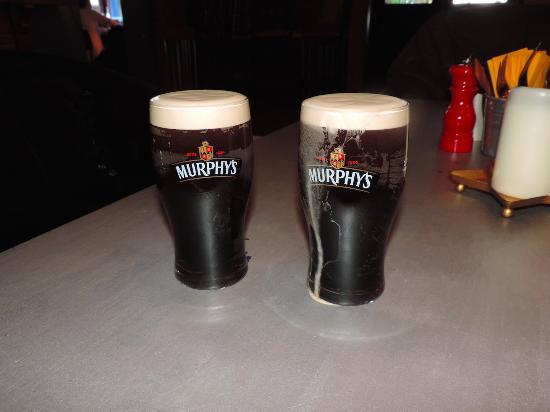 Killinure Chalets: Drinking Murphy's