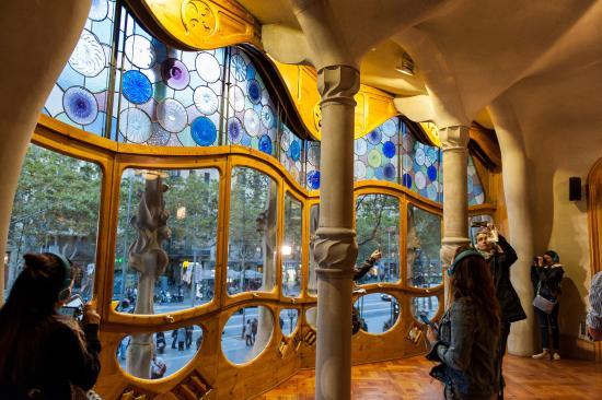 Inside Casa Batllo - Picture of Casa Batllo, Barcelona ...