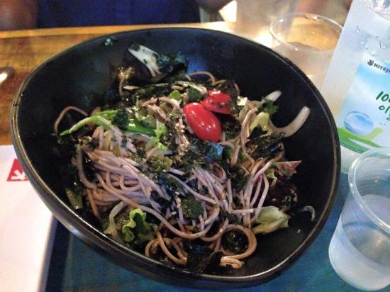 Soba Salad Picture Of Chicken Up Tampines Branch Singapore