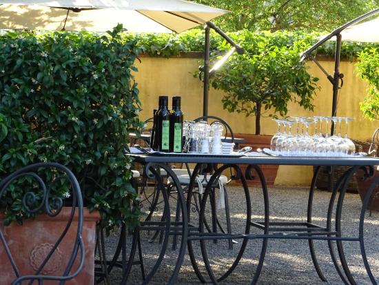 Tavernelle di Panicale, Ιταλία: table settings