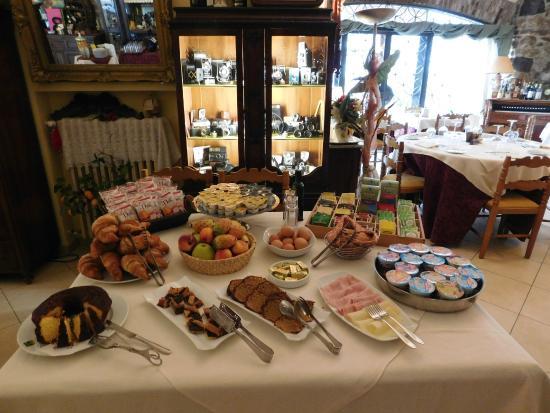 Hotel Rosati: Buffet Colazione