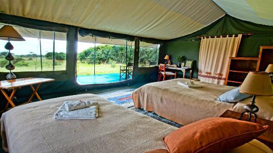 Porini Rhino Camp: Guest Tent