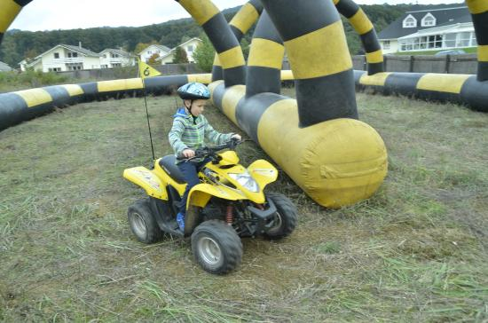 Торокбалинт, Венгрия: Gyerek quadpálya