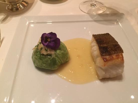 Fischers Fritz: Roasted codfish