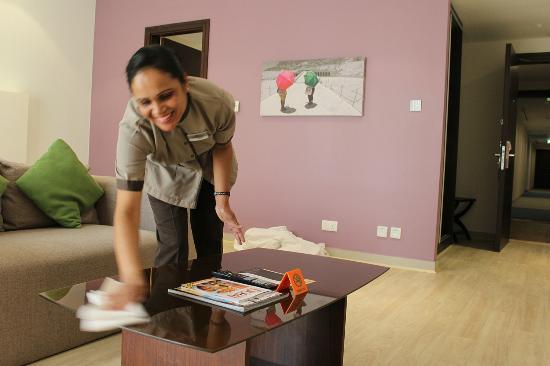 Hawthorn Suites by Wyndham Dubai, Jbr: Housekeeper