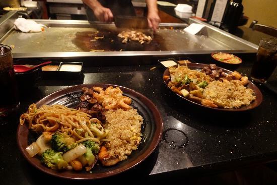 comida preparada na hora picture of aji sushi teppan winter garden tripadvisor