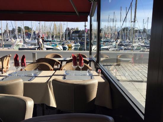 La Vue Depuis La Terrasse Photo De Restaurant Du Port Paimpol