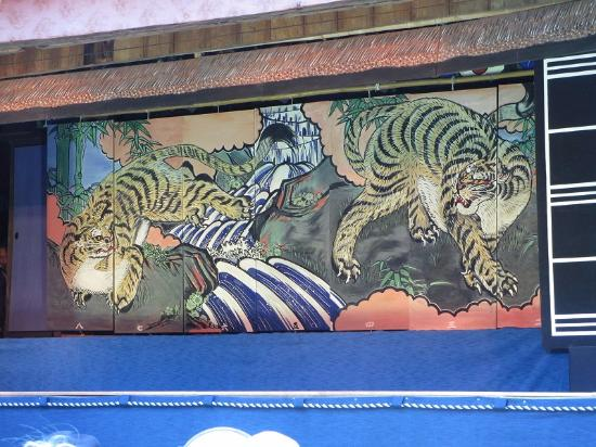 Goou Shrine: 襖からくり