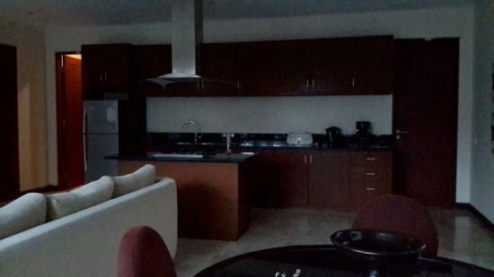 The Segara Suites: Kitchen set