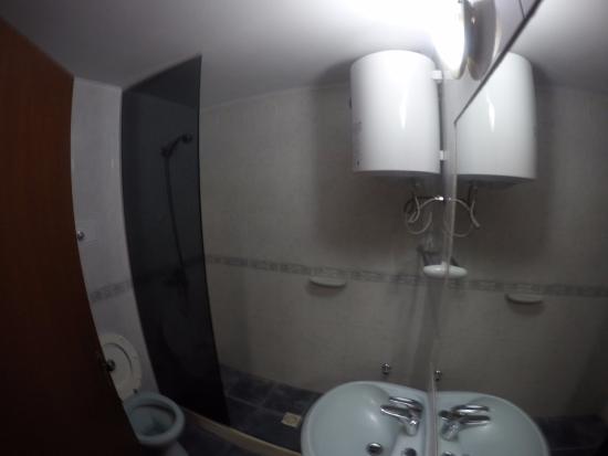 Hotel del Country: Banheiro