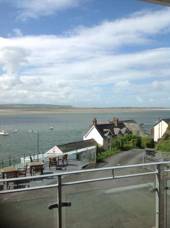 Penhelig Arms: A view from the room