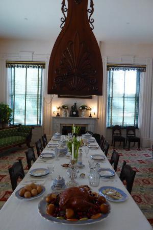 Natchez, MS: Dinning room
