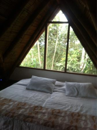 Samai Ocean View Lodge Spa : Vista desde la habitación