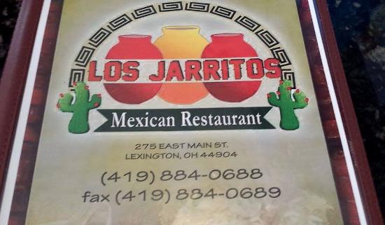 Los Jarritos, Best Mexican in Town! Lexington, Ohio