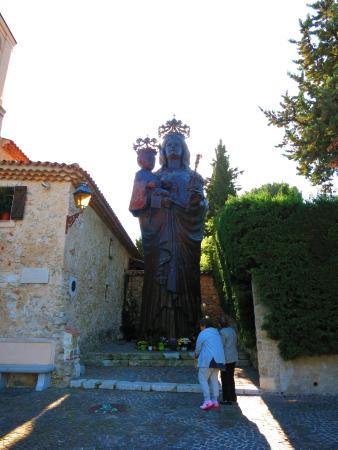 St-Jean-Cap-Ferrat, ฝรั่งเศส: Madonna and child