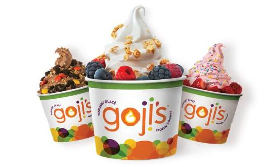 goji's Frozen Yogurt
