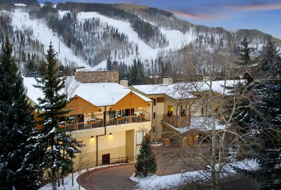 Lodge at Lionshead at the base of Vail Mountain
