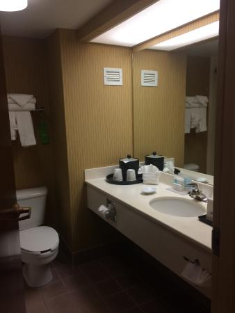 Hampton Inn - Groton: Bathroom room 224
