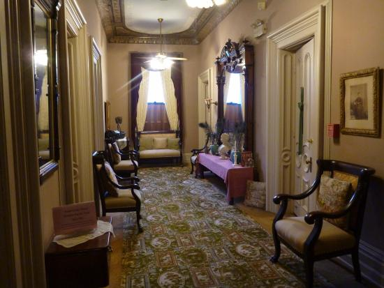 The Harry Packer Mansion Tours: Second floor hallway