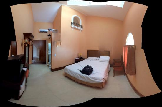 Estancia Resort: Room 19 - Please excuse the dodgy panorama stitching!
