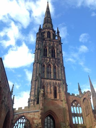 Coventry, UK: Restos de la fachada