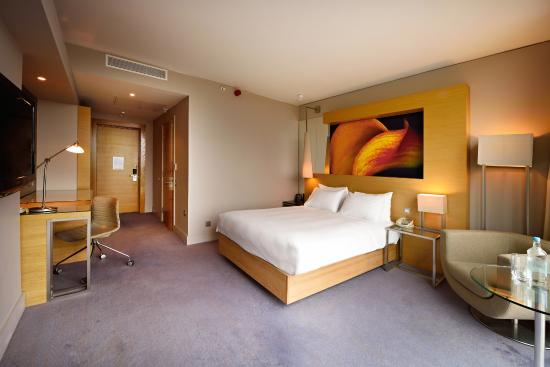 Hilton Manchester Deansgate: Accessible Guestroom