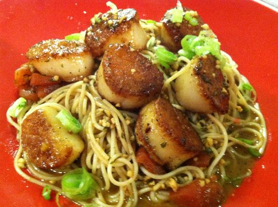 Fort Plain, NY: Scallops Scampi