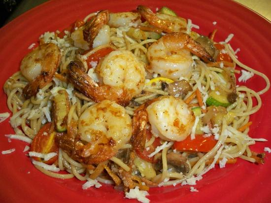 Fort Plain, Nowy Jork: Shrimp Primavera
