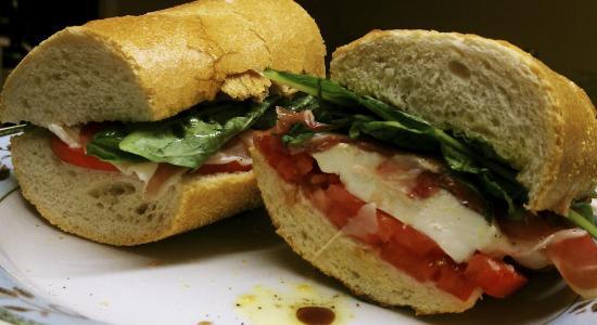 Lubrano's Trattoria: Italiano panini on brooklyn Italian bread