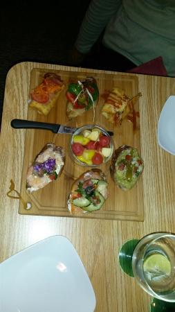 Grand Junction, CO: Tapas Platter with fruit