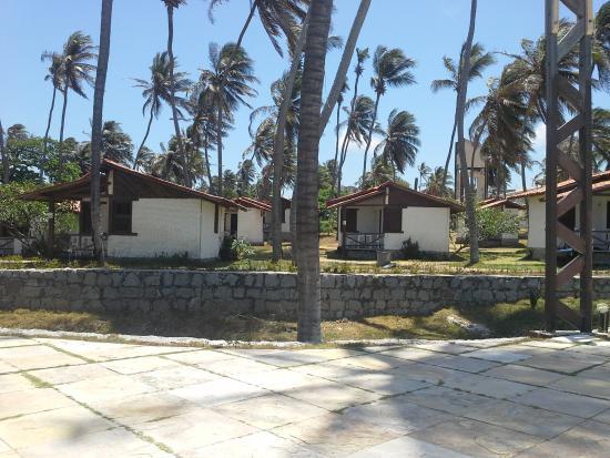 Marina Barro Preto Hotel: Foto da area dos chalés