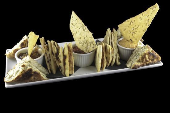 Pacific Prime Restaurant & Lounge: Trio of Dips