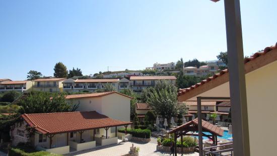 Aegean View Aqua Resort: uitzicht uit kamer 106