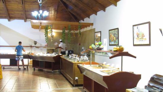 Aegean View Aqua Resort: Het ontbijt, lunch en dinerbuffet