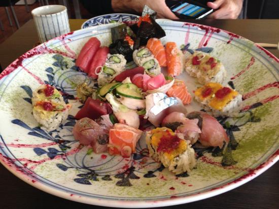 Kaiseki Sushi : Assiette création