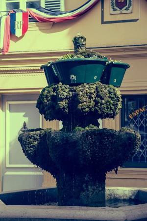 Au Garcon Boucher : Fontaine de la placette