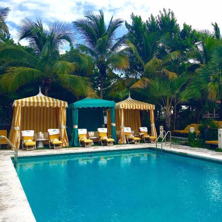 The Confidante Miami Beach Pool Cabanas
