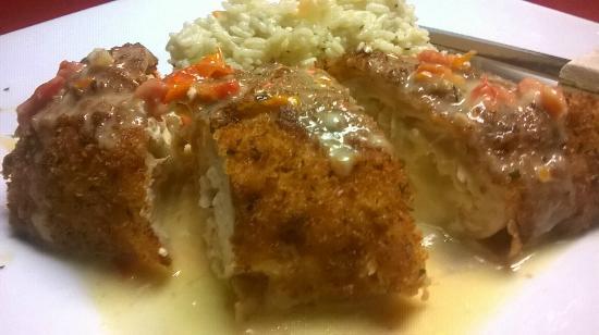 Trumansburg, estado de Nueva York: Chicken Cordon Bleu
