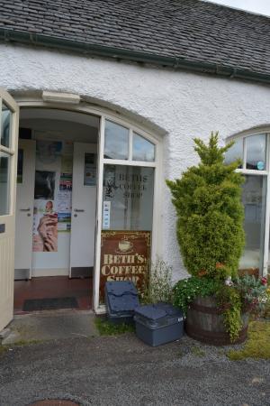 Balmacara, UK: Entrance